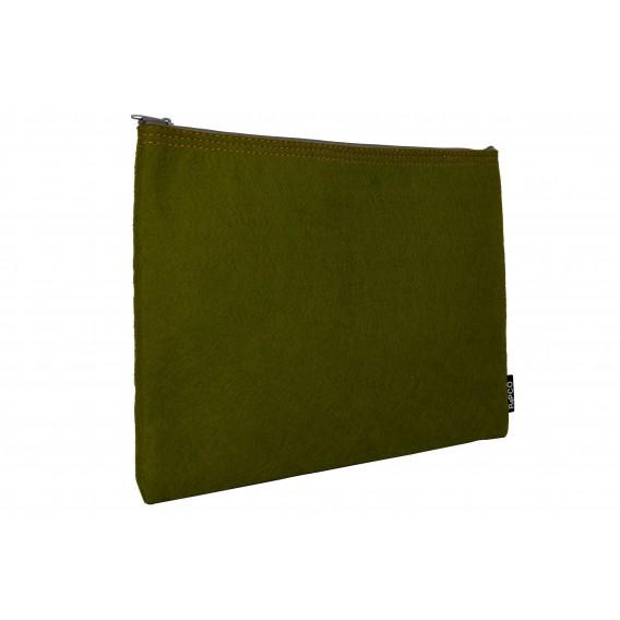 کیف زیپی پارچه ای