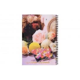 دفتر فارسی طرح دار 100 برگ