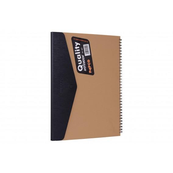 دفتر حقیبی ذو زر 80 ورقة A4