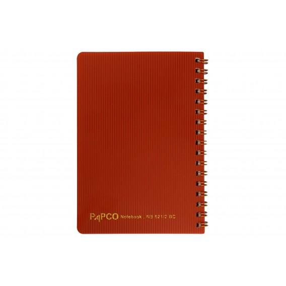 دفتر یادداشت با سیم طلایی