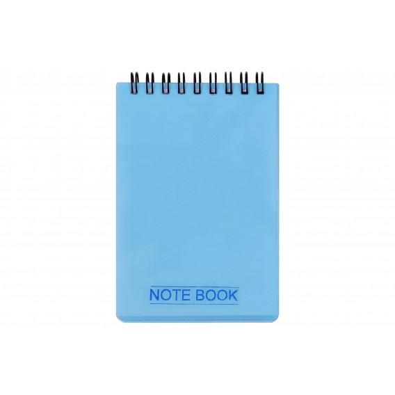 دفتر یادداشت سیم از بالا 100 برگ کج راه
