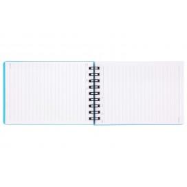 دفتر یادداشت سیم از بالا 100 برگ مات