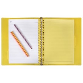 METAL BINDER NOTBOOK