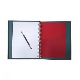 دفتر کلاسوری جلد سخت 160 برگ