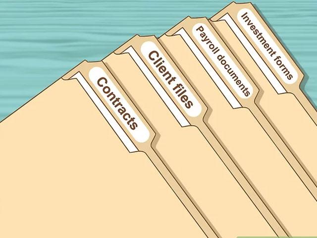 بایگانی اسناد و مدارک