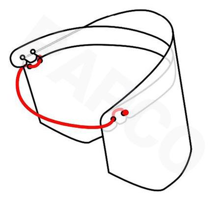 آموزش ساخت شیلد محافظ صورت